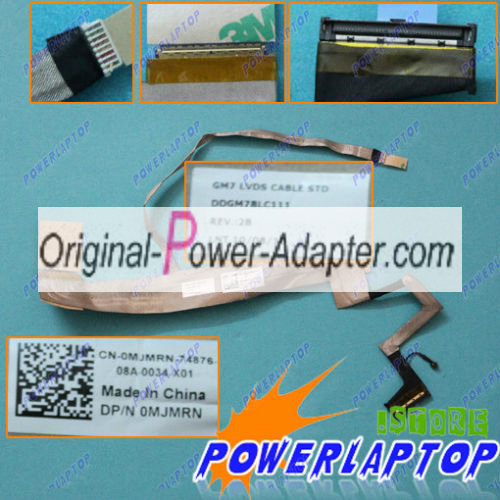 New LCD Cable DDGM7BLC111 DELL 0MJMRN L701 L701X Laptop