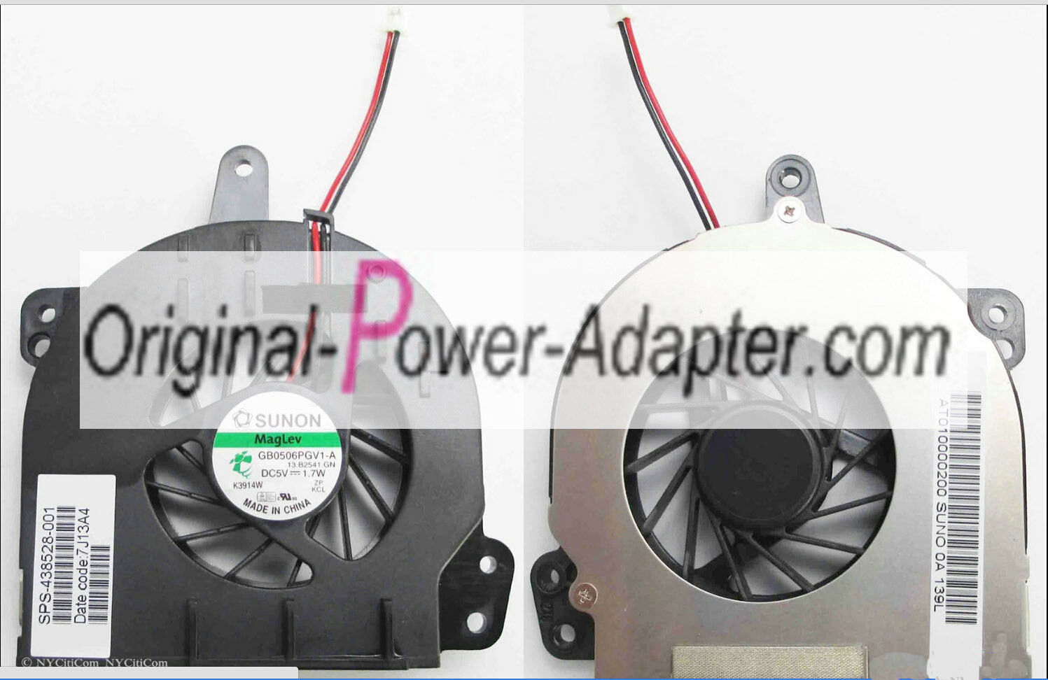 New Sunon CPU Fan For HP Compaq Presario C700 A900 fits KSB0505H