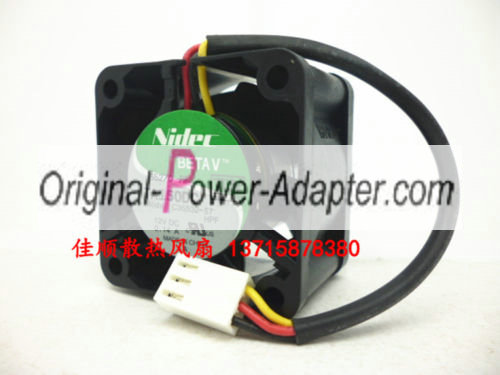 Nidec 40*40*28 TA150DC C35532-57 12V 1U server version fan