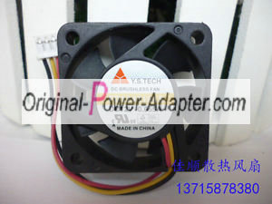 new Y.S FD124010LS 4010 12V 0.055A 3 Wire Cooling Fan