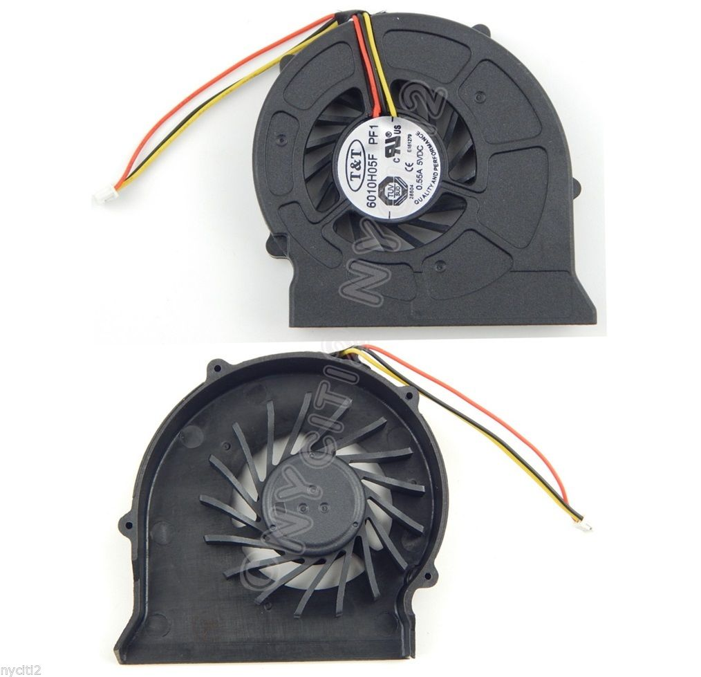 NEW ORIG CPU Fan T&T 6010H05F PF1 For MSI EX623 EX625 EX620 VR630 CR500 CR500X